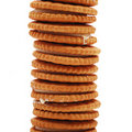 Stack Of Biscuits Royalty Free Stock Photo - 15471355
