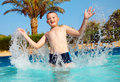 Child In Pool Royalty Free Stock Image - 15472926