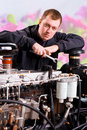 Factory Worker Hand-held Tool Stock Photography - 15483802