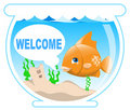 Fish In The Bowl Royalty Free Stock Image - 15493426