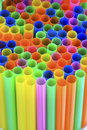 Abstract Background From Colorful Plastic Straws Stock Photos - 15494663