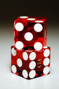 Stacked Dice Royalty Free Stock Photos - 1555998