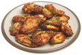 BBQ Chicken Wings Stock Images - 15510194
