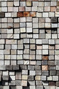 Stacked Old Lumber Stock Photography - 15512442