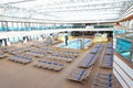 Big Hall For Rest And Tan With Swimming Pool Stock Images - 15522454