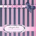 Striped Background With Ribbon Stock Photos - 15547103