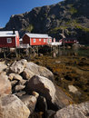Fisherman Village, Lofoten Royalty Free Stock Image - 15560496