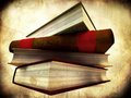 Pile Of Books Royalty Free Stock Image - 15570286