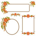 Set Of Autumn Frames Or Banners Stock Photos - 15591273