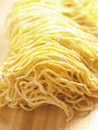 Raw Egg Noodles Royalty Free Stock Photography - 15591917