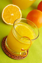Fresh Orange Juice Royalty Free Stock Image - 15639556