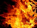 Fire Background Royalty Free Stock Photography - 15670287