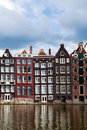 Amsterdam Canal Houses Stock Photo - 15673030