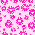 Seamless Heart Shapes Stock Image - 15679391