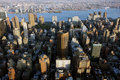 Aerial View Of New York Royalty Free Stock Image - 15681136