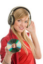 Woman Listening To Music Royalty Free Stock Photography - 15681627