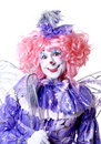 Female Fairy Clown Royalty Free Stock Images - 1578349