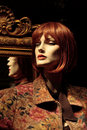 Mannequin With A Mirror Royalty Free Stock Photos - 1578408