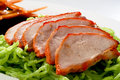 Noodle Roast Duck On Plate Stock Image - 15707161