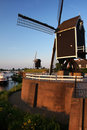 Dutch Windmills Stock Image - 15707541