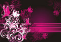 Floral Ornament And Butterfly. Vector Illustration Stock Photos - 15719433