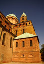 Speyer Cathedral Side Walls, Germany Stock Photography - 15730202