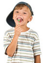 Boy With Lollipop Stock Images - 15757284