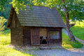 Old Wooden Cabin Royalty Free Stock Photo - 15762725