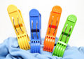 Clothes Pegs Royalty Free Stock Photography - 15776957