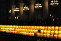 Candles In Notre-Dame, Paris Stock Image - 15780671