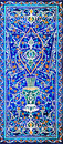 Traditional Ornament Of Ceramics At The Mosque Royalty Free Stock Photo - 15787985