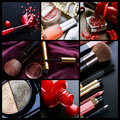 Professional Make-up Collage Stock Images - 15791004
