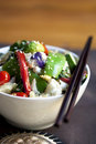 Stir-Fried Vegetables Royalty Free Stock Photography - 15791187