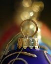 Blue Christmas Bauble Royalty Free Stock Photos - 1582558