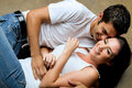 Young Couple In A Romantic Moment Royalty Free Stock Photos - 15804548