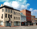 Small Town Main Street 4 Royalty Free Stock Photography - 15827777