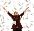 Money Rain Royalty Free Stock Images - 15830469