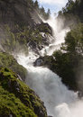 Close View Of A Huge Waterfall Royalty Free Stock Photos - 15832298
