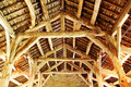 An Old Timber Roof Stock Photo - 15835190