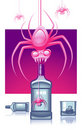 Pink Spiders Stock Photos - 15841713