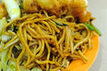 Malay Style Fried Noodles Royalty Free Stock Photography - 15841977