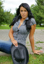 Sexy Cowgirl Stock Images - 15850454