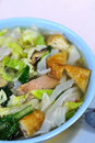 Vegetarian Soup Noodles Royalty Free Stock Photos - 15851508