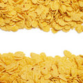 Cornflakes Background With Copy Space Royalty Free Stock Photography - 15852657