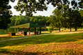 Picnic Area In Park Stock Images - 15865564