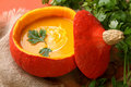 Pumpkin Soup Stock Photography - 15876762