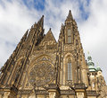 St. Vitus Cathedral, Prague Castle Stock Photos - 15884823