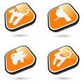 Pet Animal Buttons Stock Images - 15915804