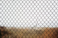 Broken Iron Wire Fence Stock Photography - 15915962