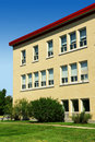 Vertical Of A School Wing Stock Image - 15919191